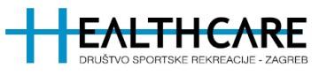 Logotip Društva sportske rekreacije Healthcare